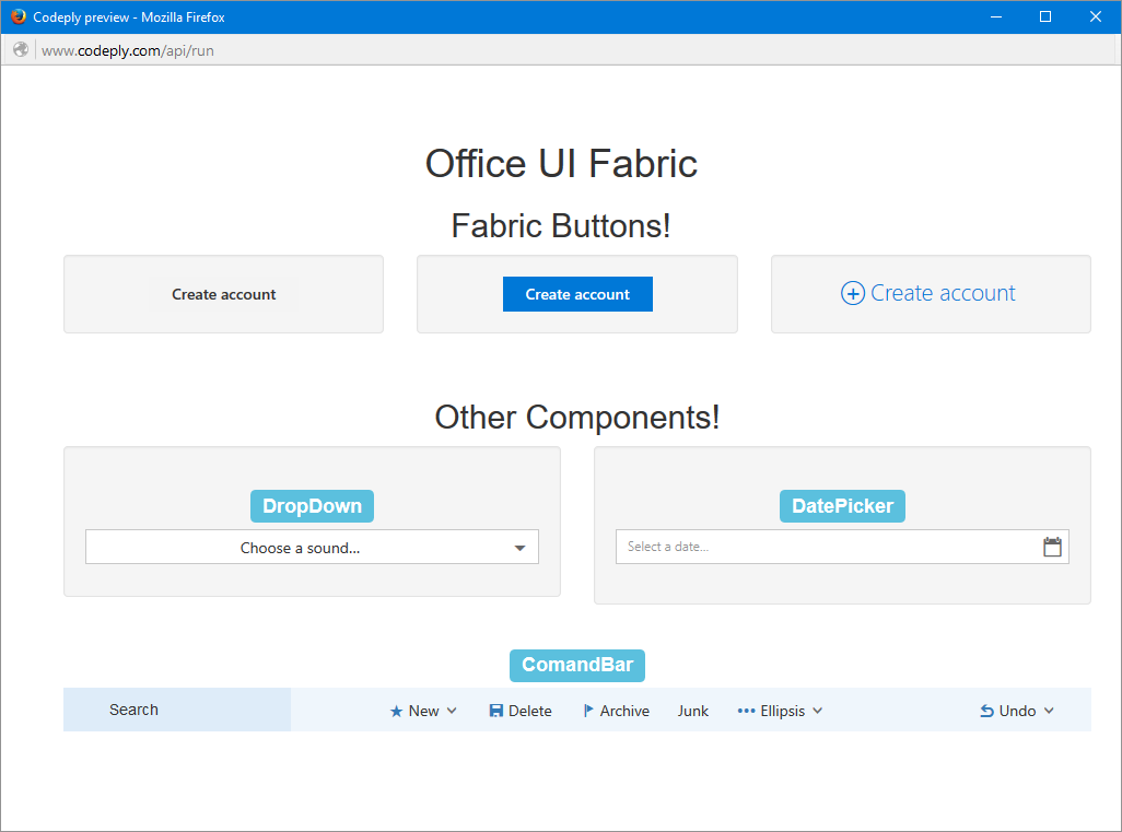 office ui fabric - 28 images - developing with office ui ...