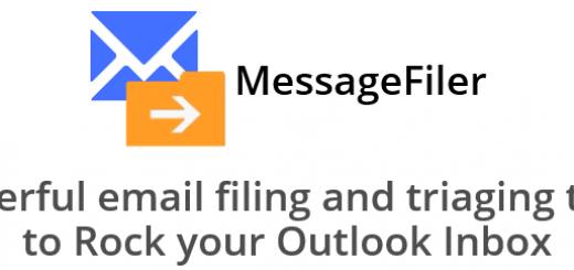 MessageFiler web page header