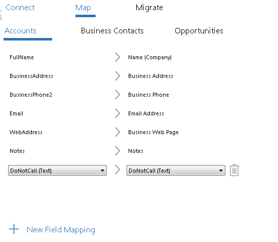 How to use the Business Contact Manager Migration Assistant tool to